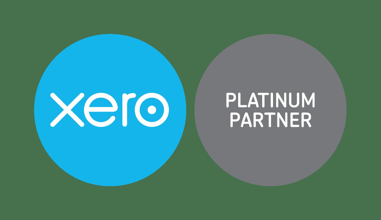 xero platinum partner badge RGB
